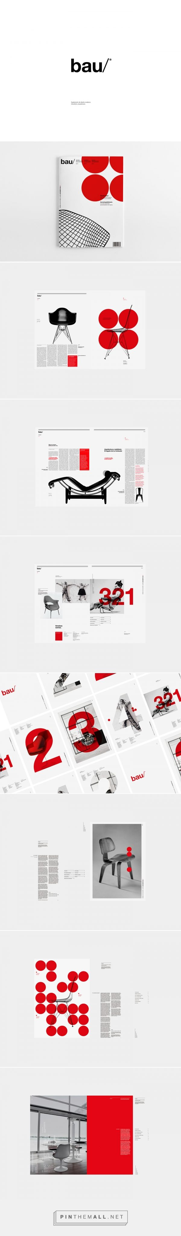 bau® Magazine on Behance - created via https://pinthemall.net
