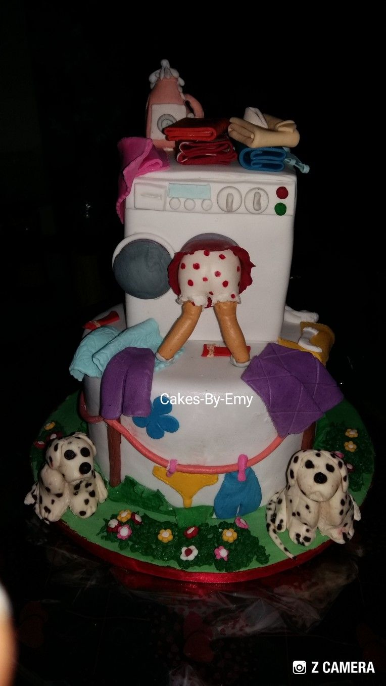 Laundry Cake Design Cakemadeindeltastate Asababaker Cakes By Emy For All Occasions