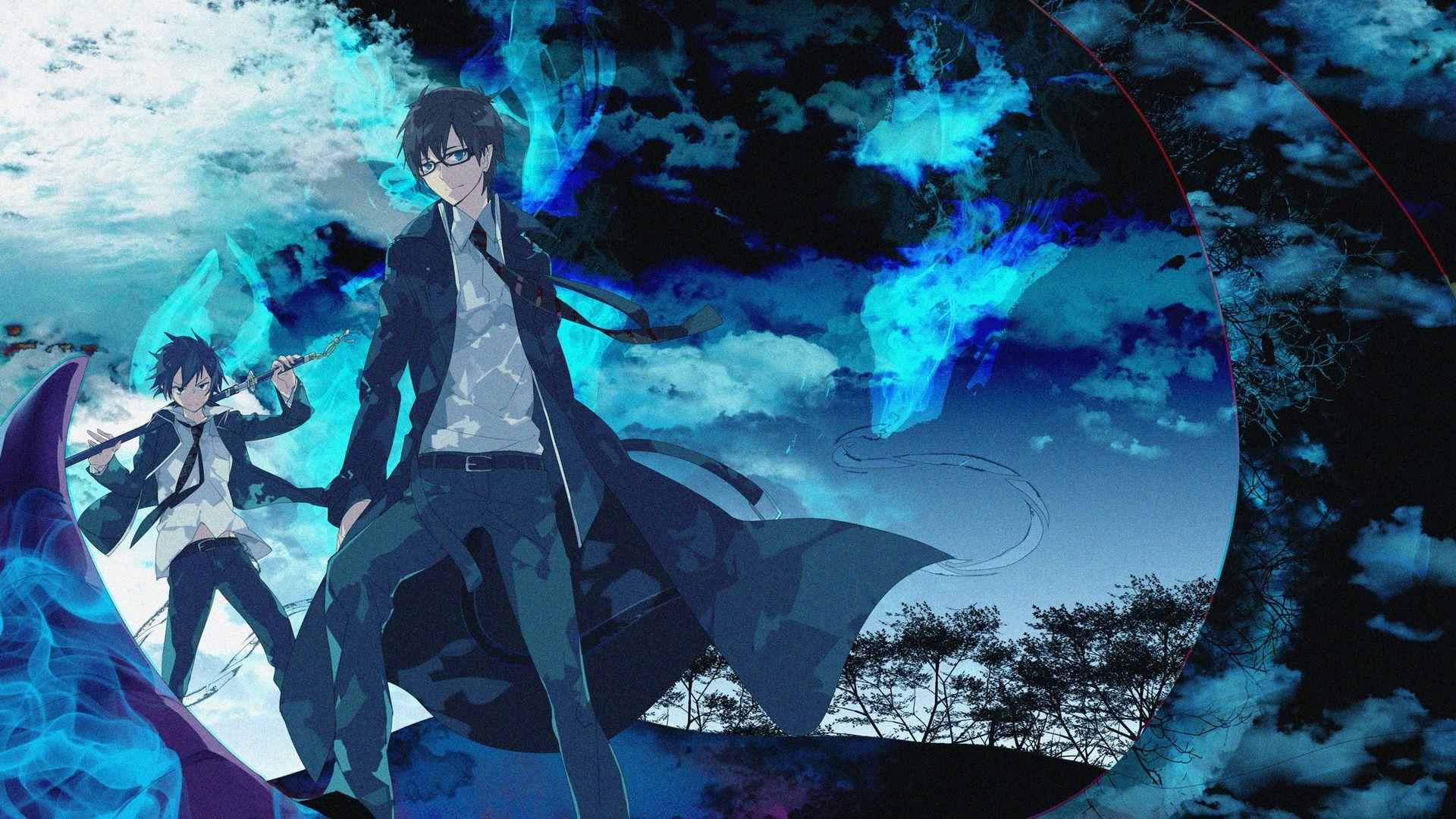 Blue Exorcist Rin Demon Form Wallpapers Bozhuwallpaper Blue