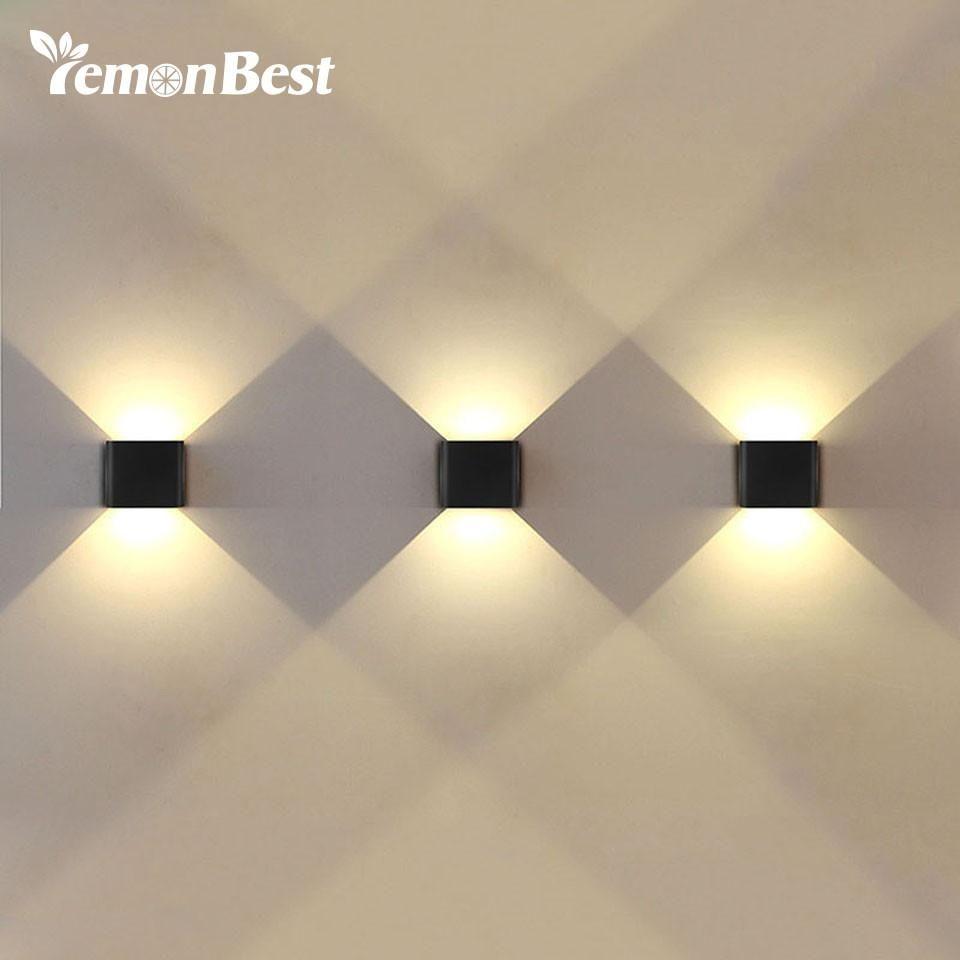 6w Led Wall Light Up Down Ac 220v 110v Led Stair Bedside Lamp