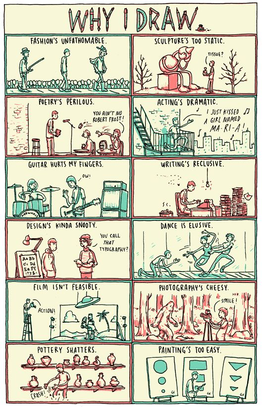 Grant Sniders Great Comics on Art and Inspiration
