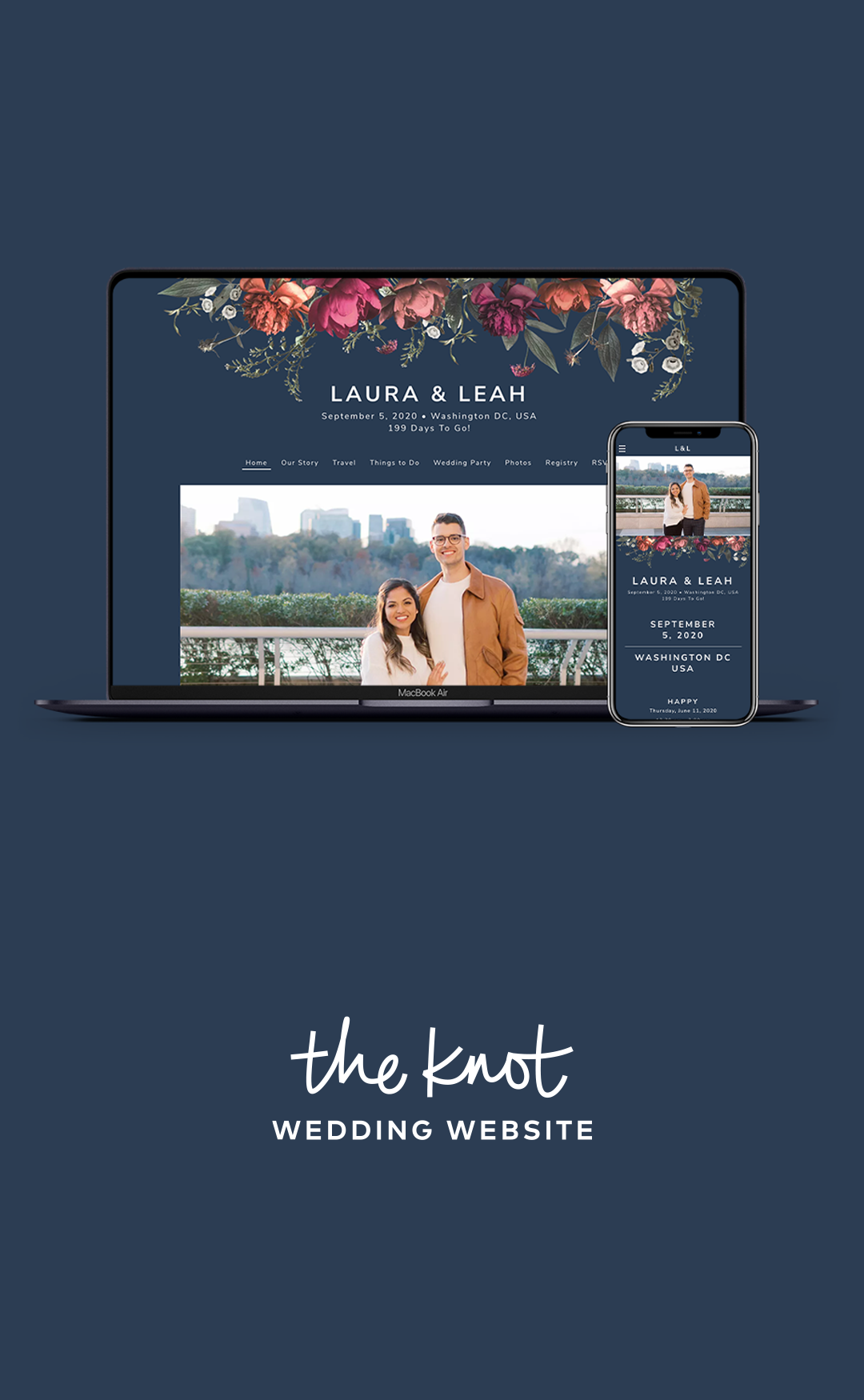 The Knot Wedding Websites Free Easy To Use Create A Wedding Website Your Guests Will Love In 2020 Wedding Website Wedding Website Free The Knot Wedding Website