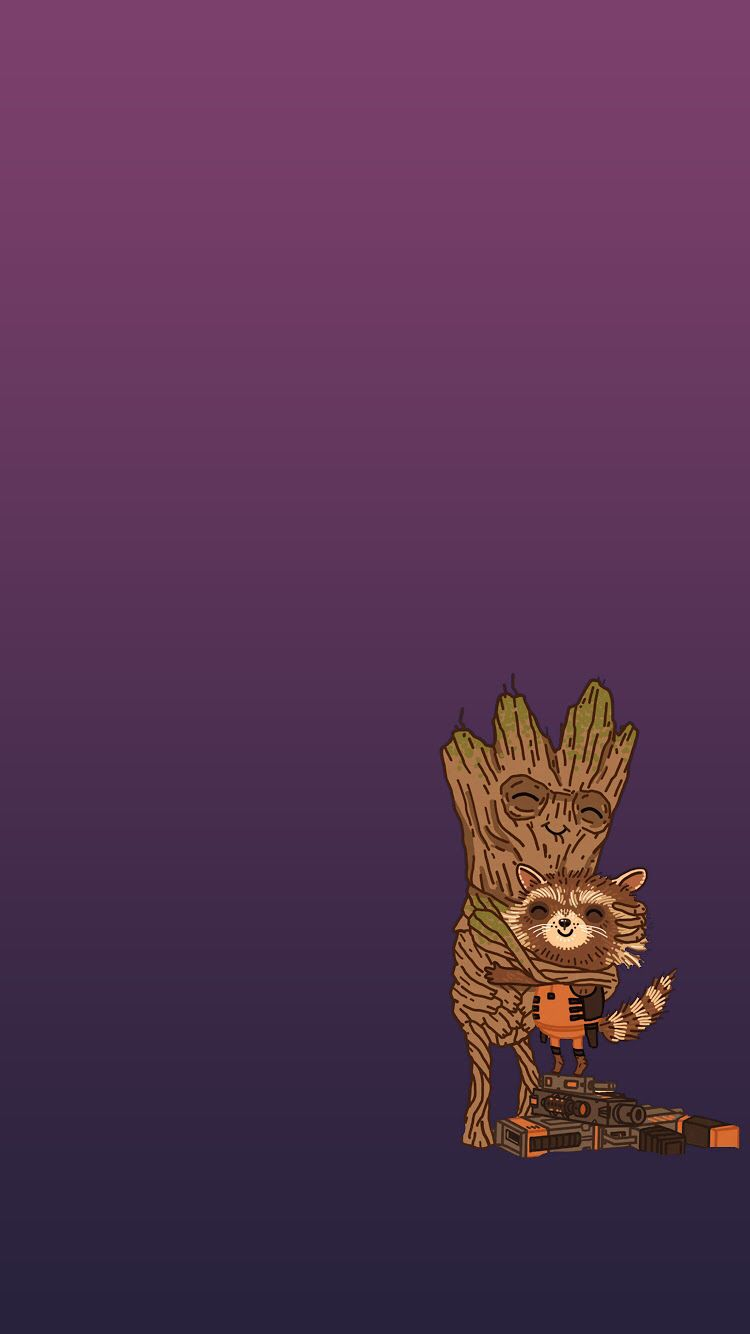 Nerd iphone wallpaper tumblr - Guardians Of The Galaxy Wallpaper Iphone 6 Groot Rocket Racoon
