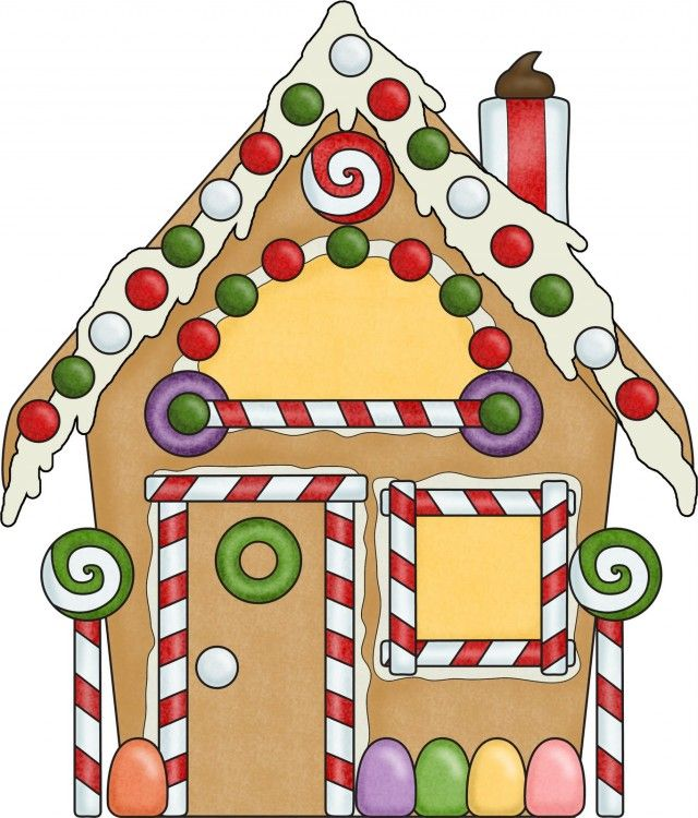 gingerbread house creative pinterest gingerbread and clip art rh pinterest com gingerbread house clip art black and white gingerbread house candy clip art