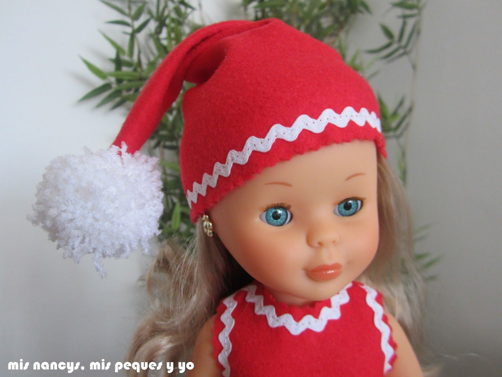 mis nancys, mis peques y yo, disfraz duende de navidad con sombrero