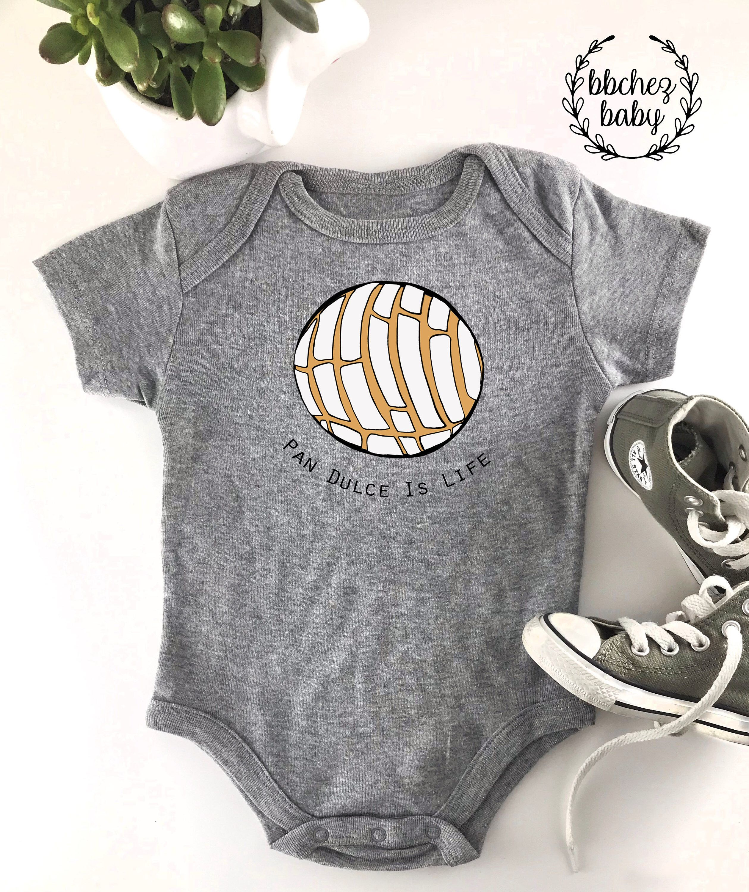 34207231aef Excited to share the latest addition to my  etsy shop  Pan Dulce is Life  Baby Onesie   Bodysuit