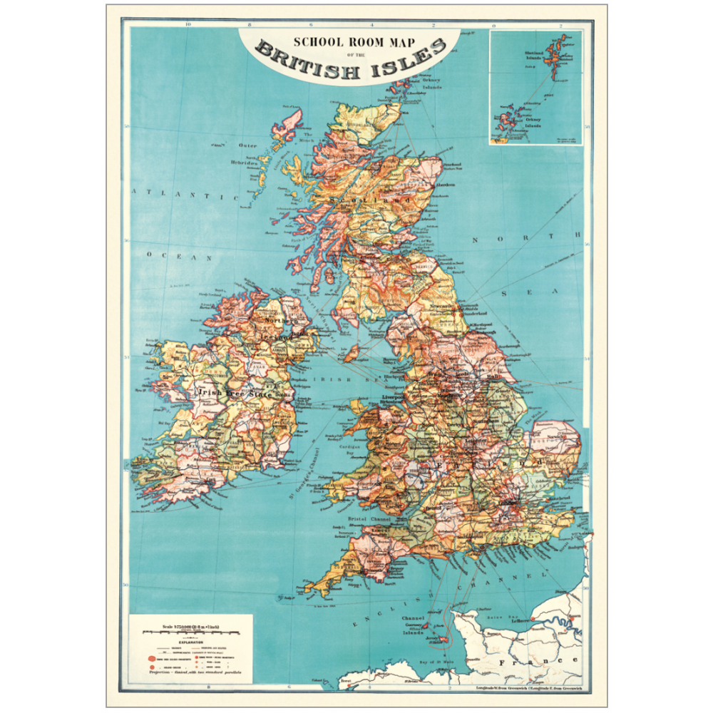 Map of the British Isles | Countries | Pinterest | Map wrapping ...