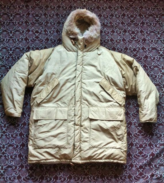 Vintage 70 s WOOLRICH Goose Down Arctic Expedition Parka X-Large Coyote Fur  Lined Snorkel Maximum Fill Duck Hunting Hiking Research Jacket 3267f5922b16