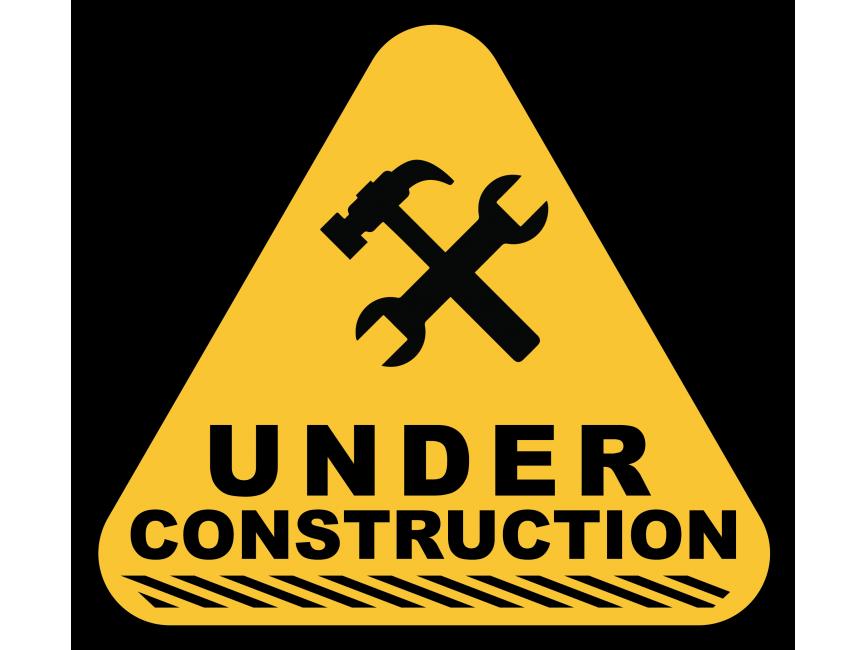 Under Construction Sign Transparent Image Download Free Under Construction Sign Transparent Image In Png Format Cumpleanos Del Tractor Cumpleanos Construccion