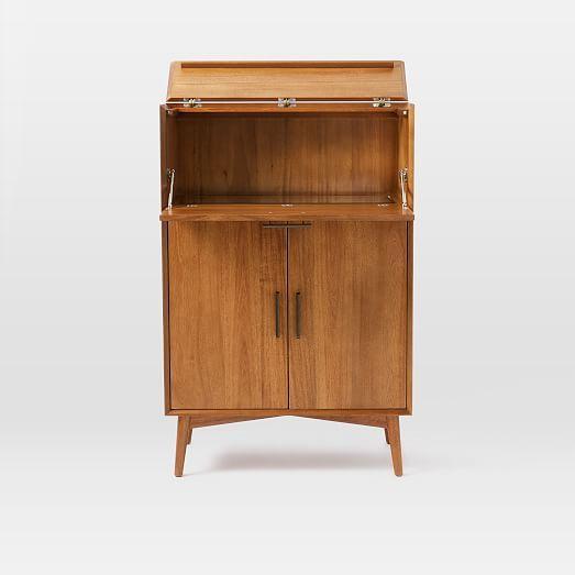 Mid-Century Bar Cabinet - Large #westelm | Bar ideas in ...