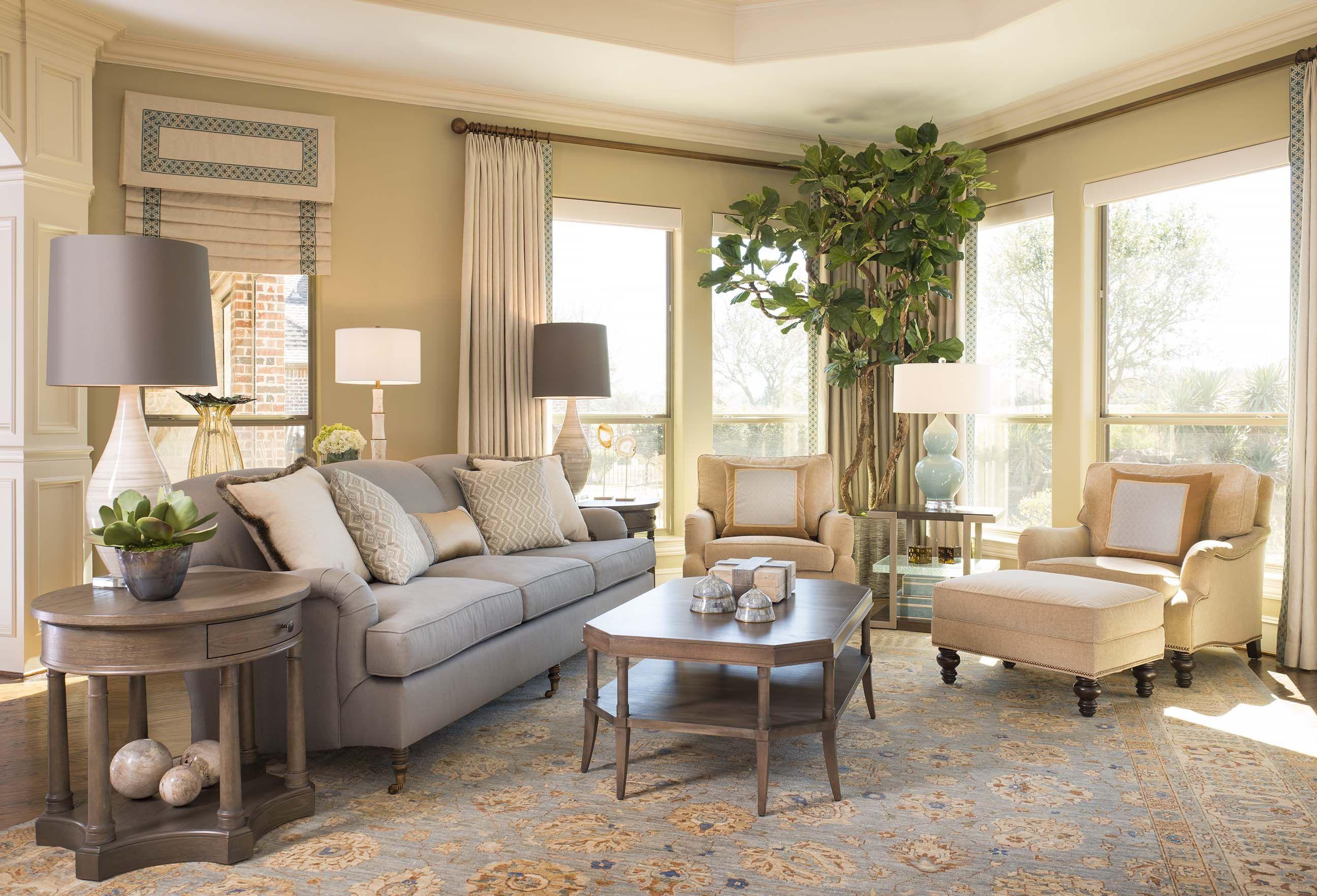 Living Room Design Interiors Dallasdesigngroup Tranquility