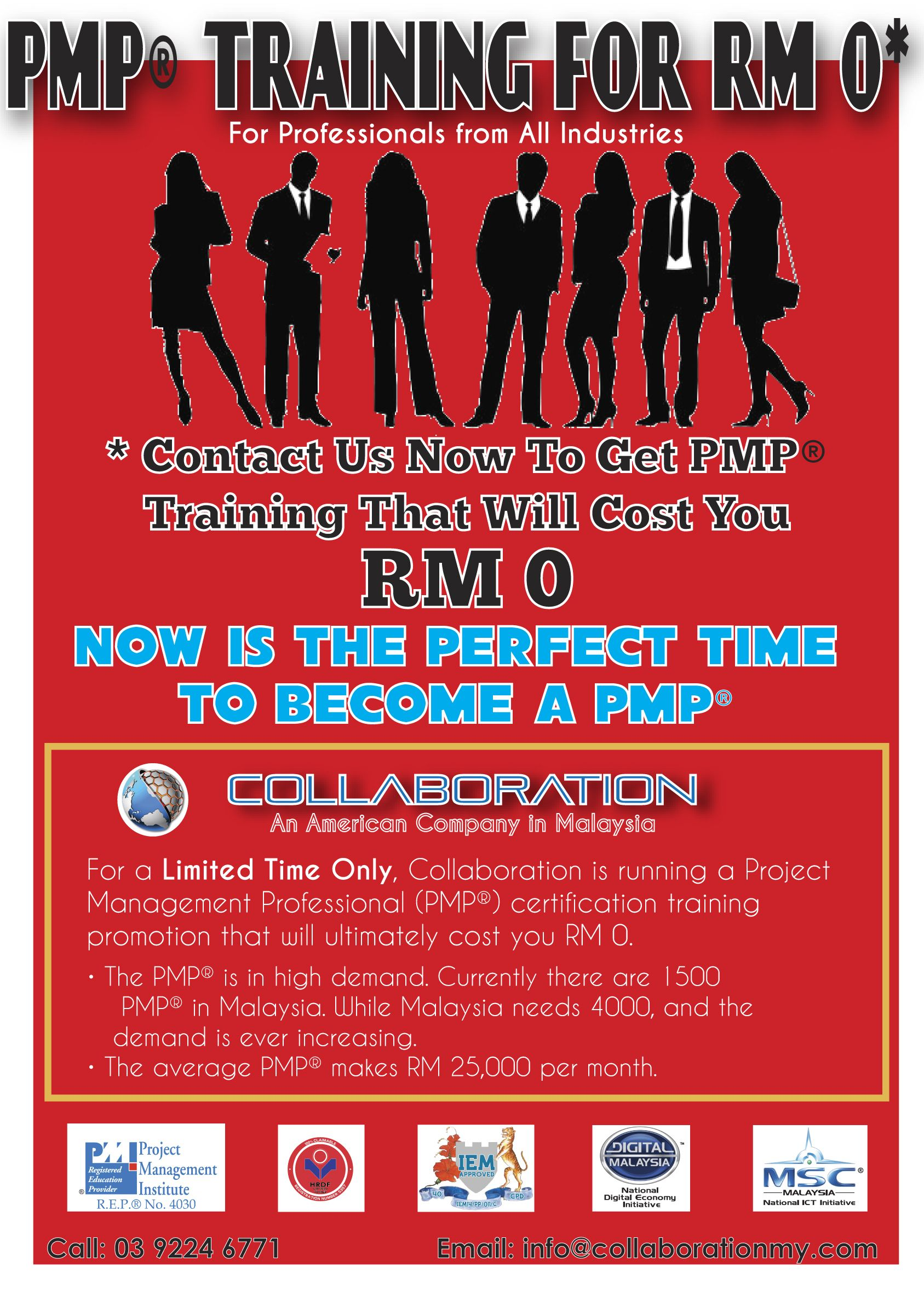 Great Time For Malaysians In And Around Kl To Get Pmp Training