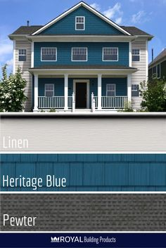 Royal Crown Select Siding Heritage Blue Google Search
