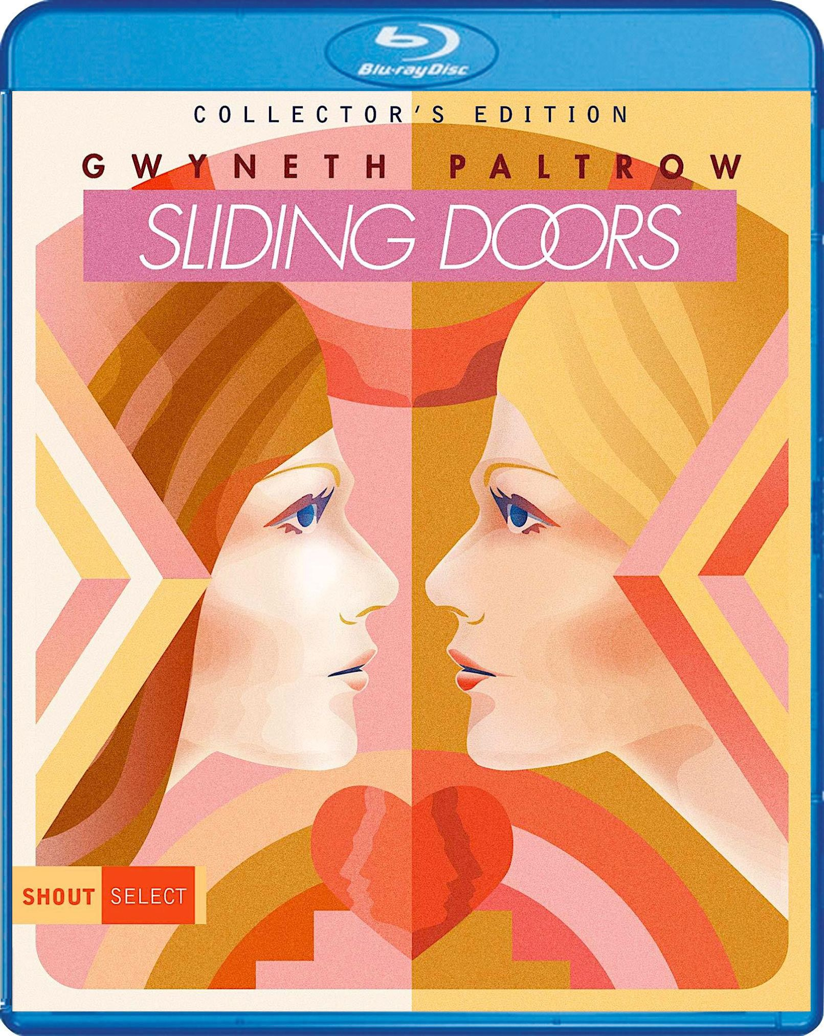 Sliding Doors Collector S Edition Blu Ray Spine 100 Shout Select Cool Things To Buy Cover Artwork The Selection