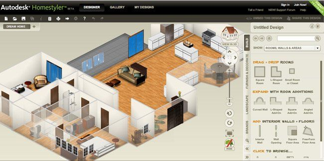 10 best free online virtual room programs and tools web - Online interior design tool ...