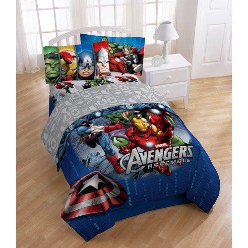 amazon com disney marvel avengers assemble 4pc twin bedding rh pinterest ca