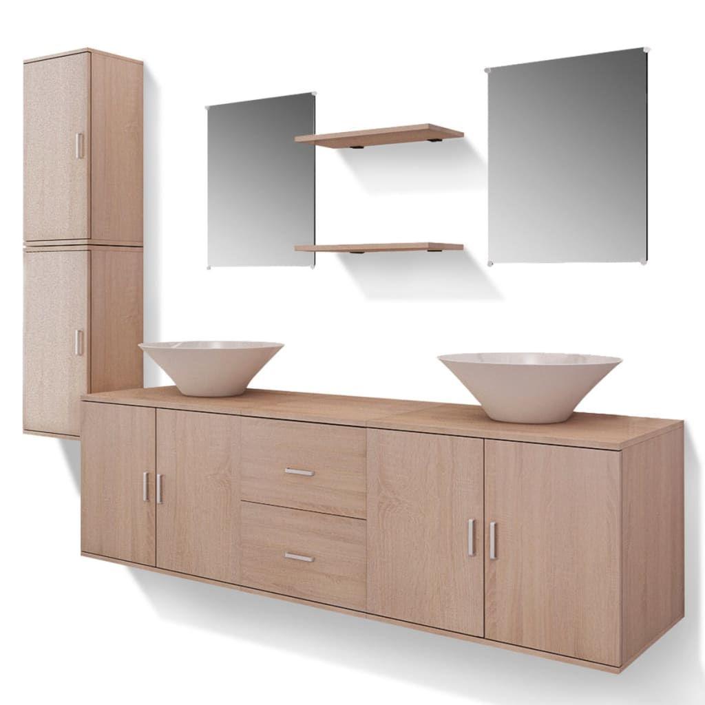 Szafka łazienkowa Z Umywalką 80 Cm Szafki łazienkowe