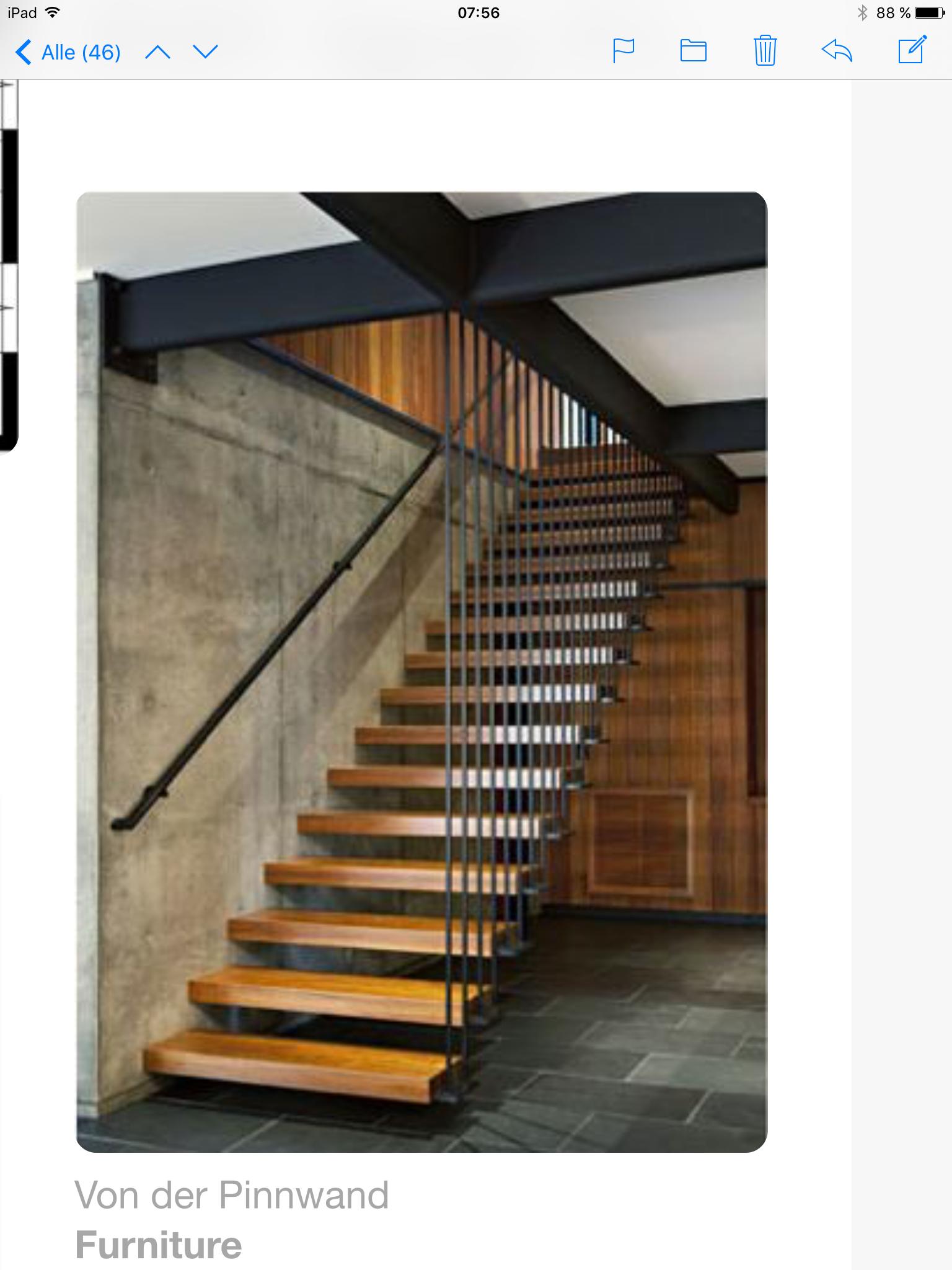 pin von florentine bachinger auf treppen pinterest treppe treppenhaus und stiegen. Black Bedroom Furniture Sets. Home Design Ideas