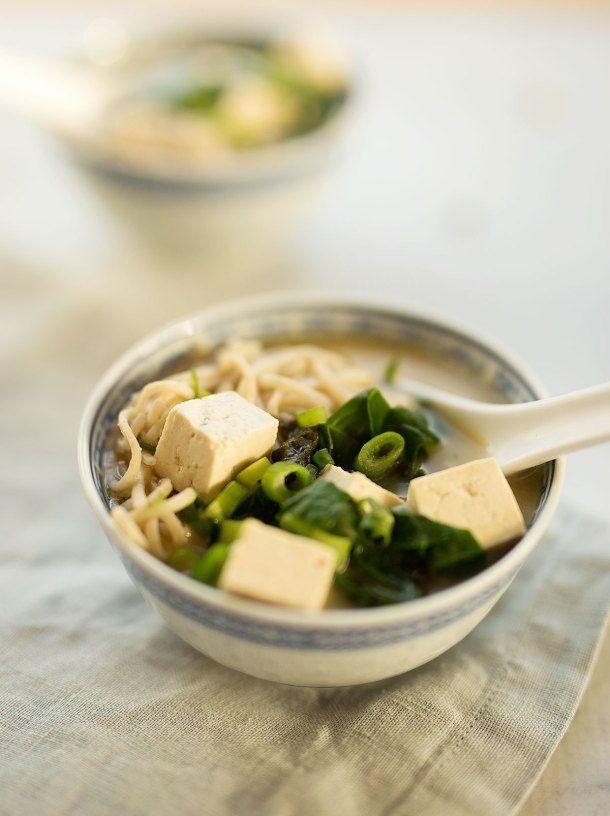 Simple Miso Soup in 2020 | Miso soup, Soup, Eat
