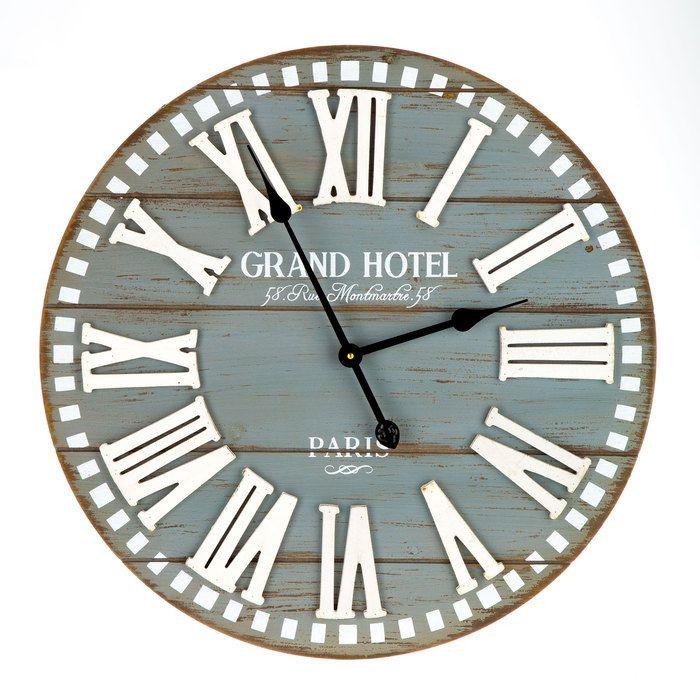 Grand Hotel Wood Wall Clock Hobby Lobby 1290584 Wall Clock Farmhouse Wall Clocks Clock Wall Decor