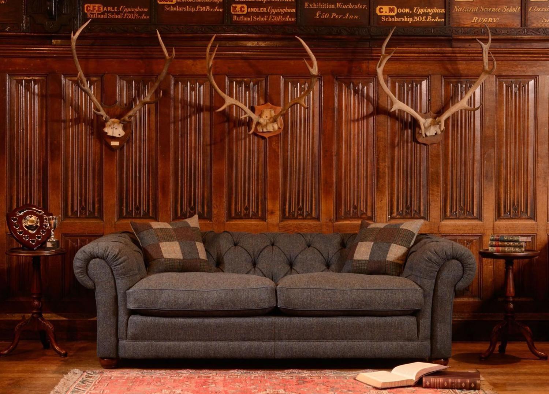 tetrad harris tweed castlebay sofa from george tannahill sons rh pinterest com