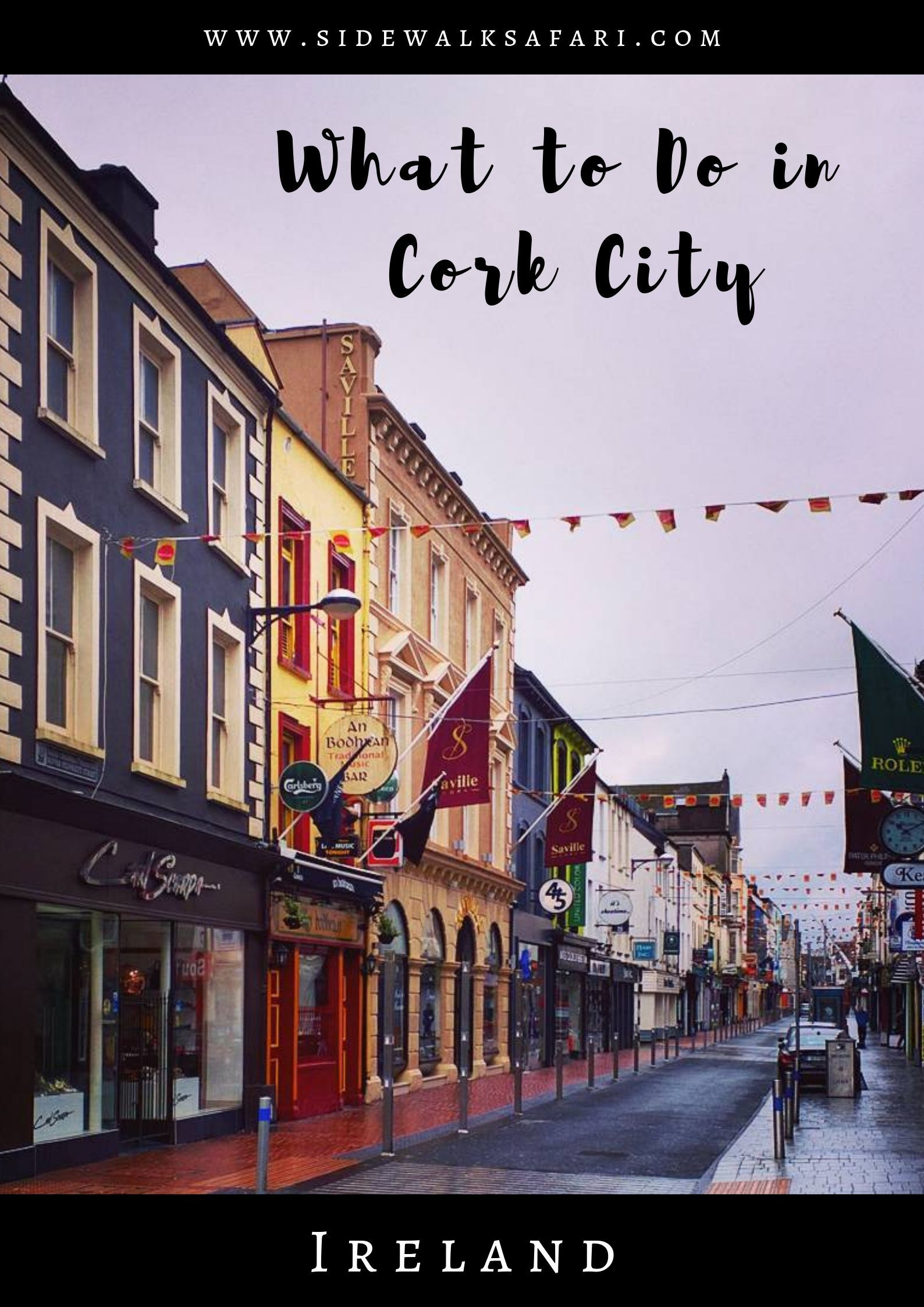 What To Do In Cork City Ireland In 2020 Cork City Ireland Cork City Nightlife Travel