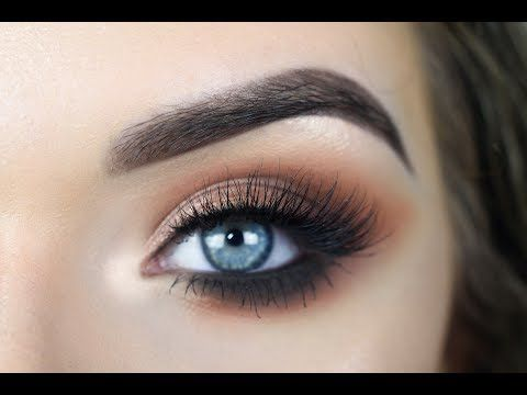 Jaclyn Hill X Morphe Palette Warm Smokey Eye Makeup Tutorial