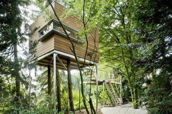 more ideas below amazing tiny treehouse kids architecture modern rh pinterest com