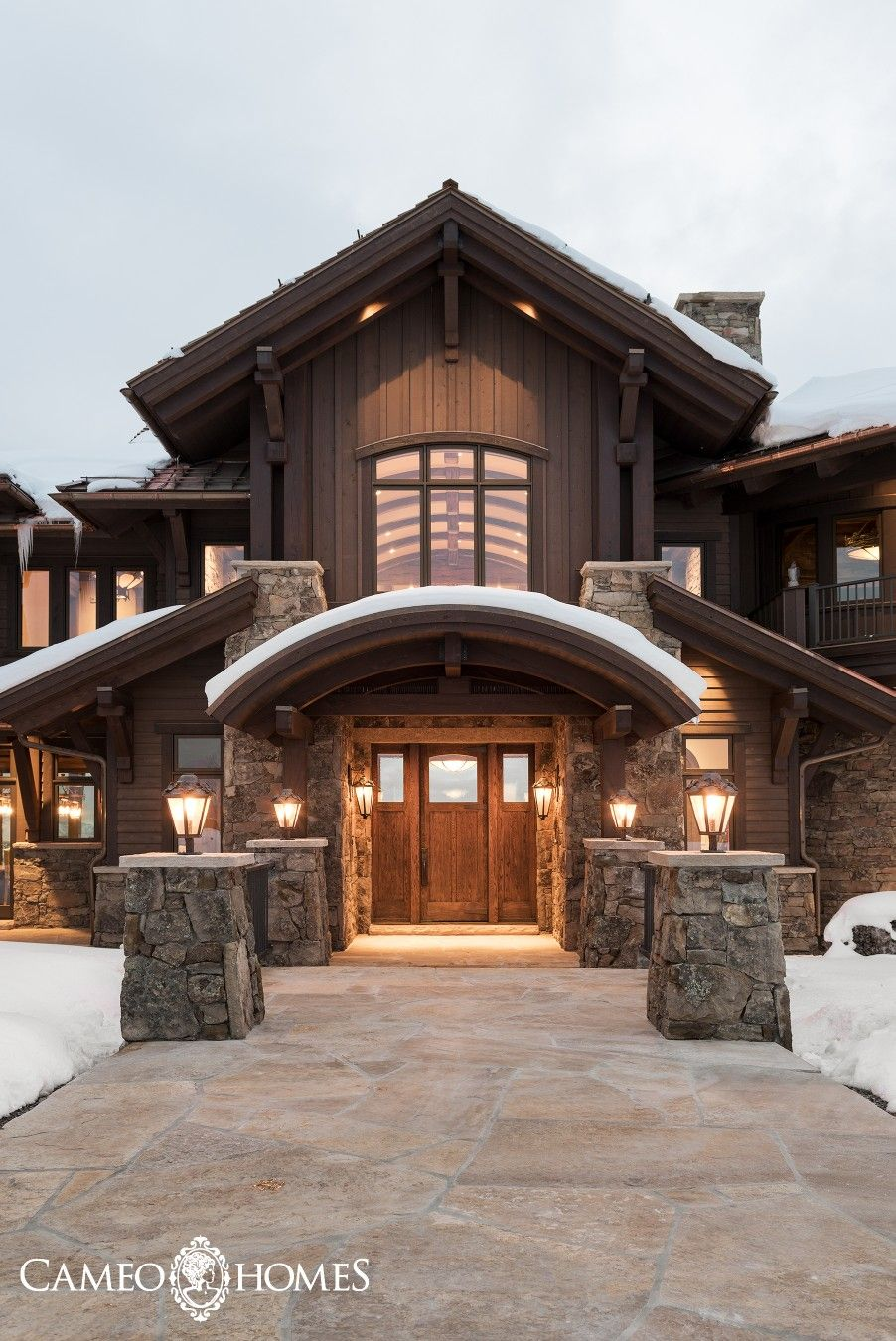 an impressive front entryway into this immaculate estate in utah rh pinterest com