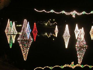 salem floating christmas trees and the spanish fork lights - Spanish Fork Christmas Lights