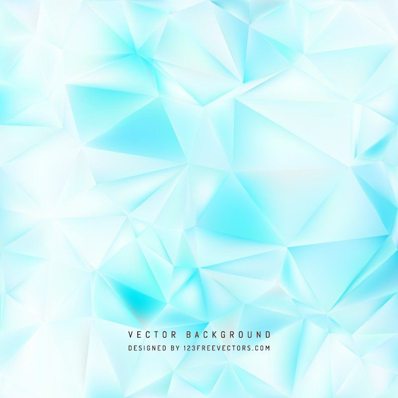 Abstract Light Blue Polygonal Background Design freevectors
