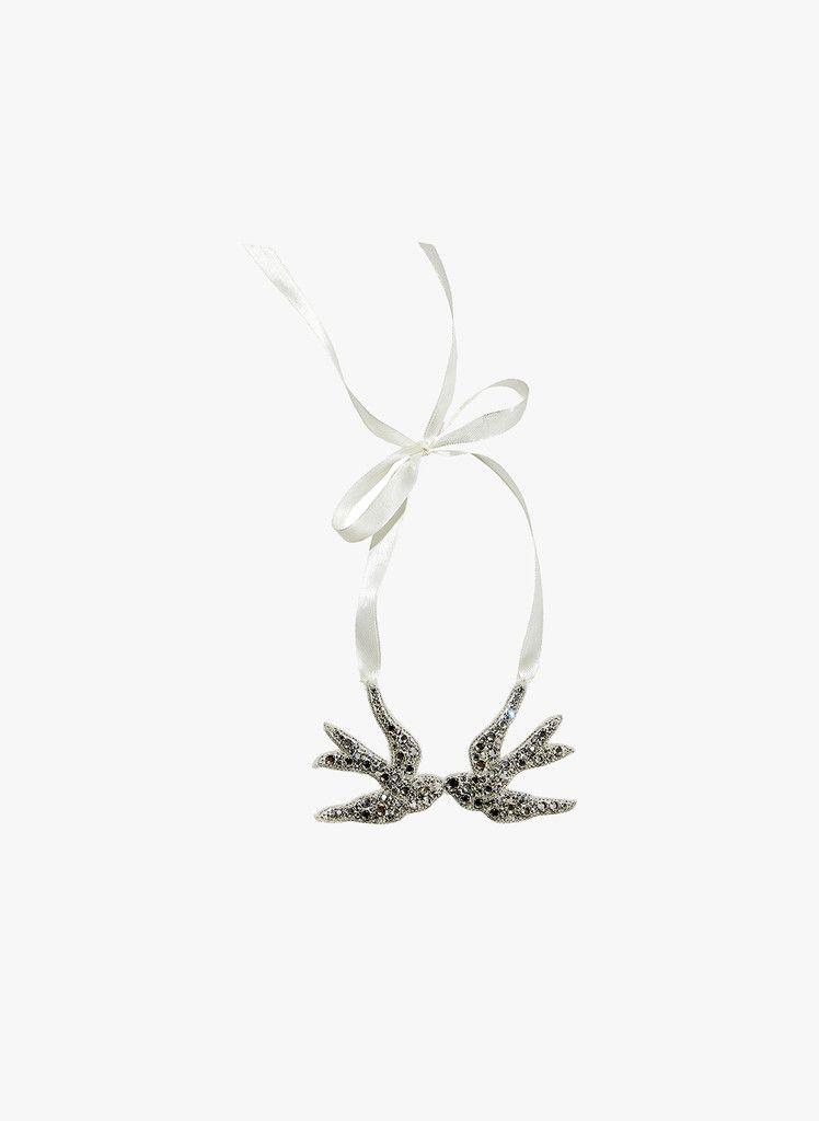 Tutu Du Monde Little Birdies Necklace in Silver