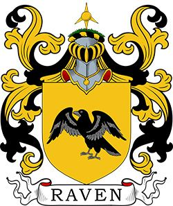 Raven Coat of Arms