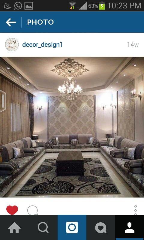 مجلس رجال Door Design Interior Plafond Design Contemporary Lounge