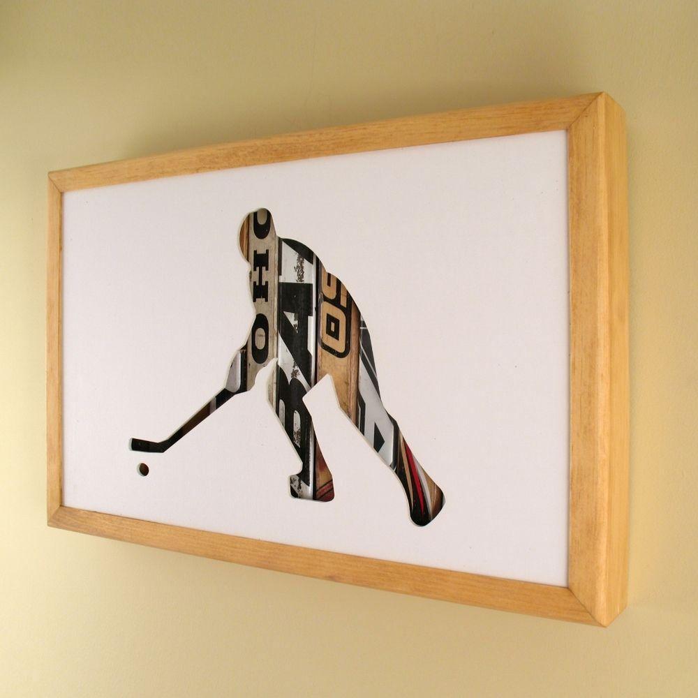 Hockey Player 17 X 11 X 2 17500 Art Love Pinterest