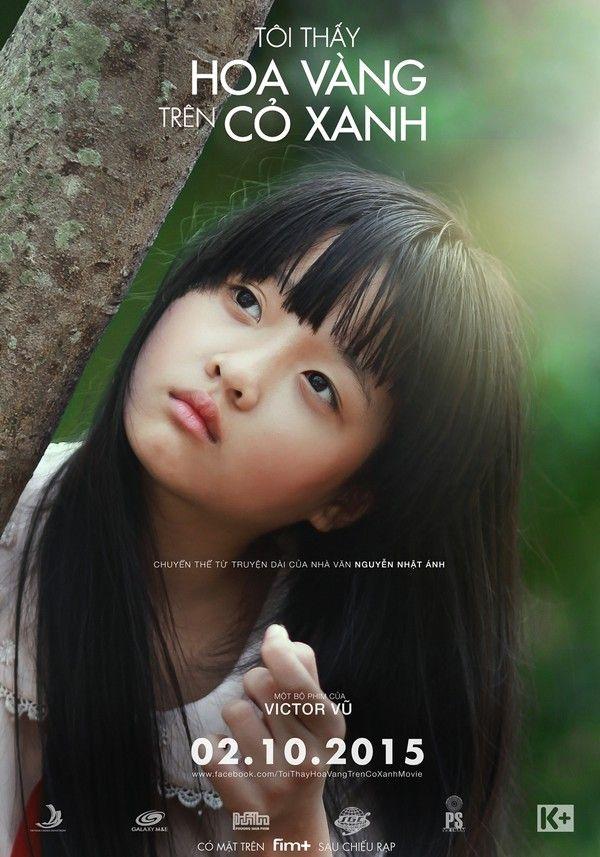 Thanh Mỹ trên poster phim Tôi thấy hoa vàng trên cỏ xanh