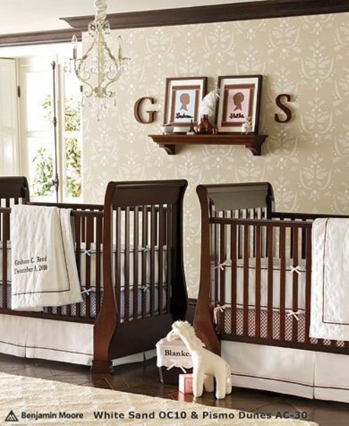 love this nursery set up getting ideas on how to set up my twins rh pinterest com