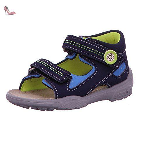 Ricosta Garei, chaussures bateau fille - Bleu - Blau (marine/see 170), 25 EU (7.5 Kids UK) EU