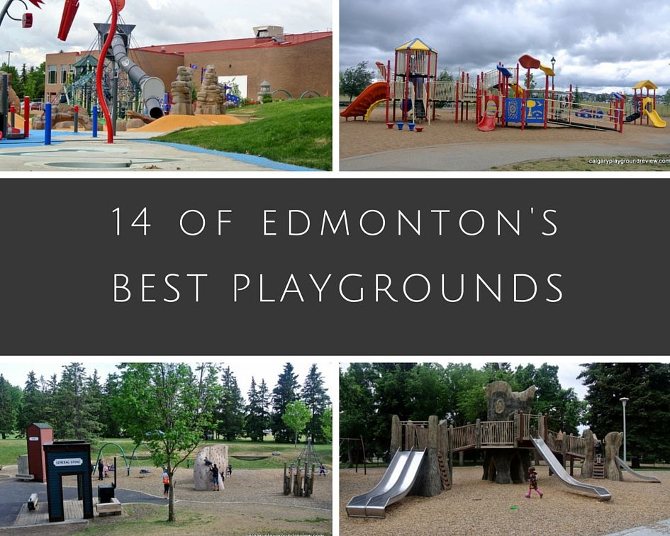 14 of the best playgrounds in Edmonton
