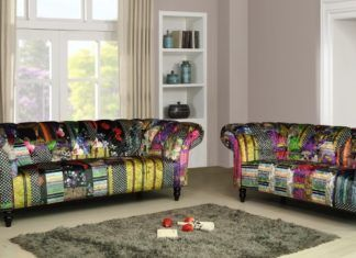 large range of leather and fabric chesterfield sofas fabric corner rh pinterest nz