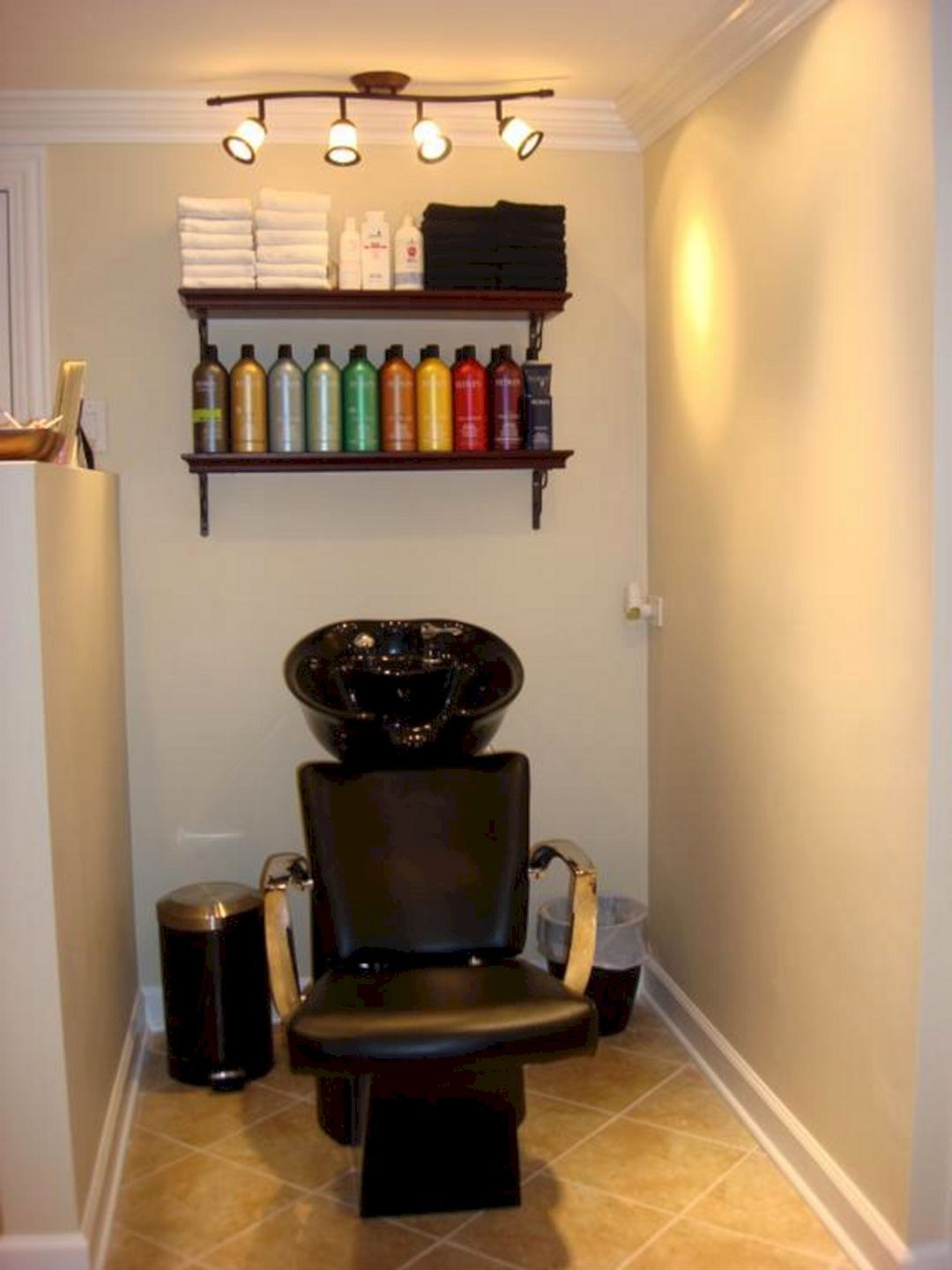 46 best home salon decor ideas for private salon on your home rh pinterest com