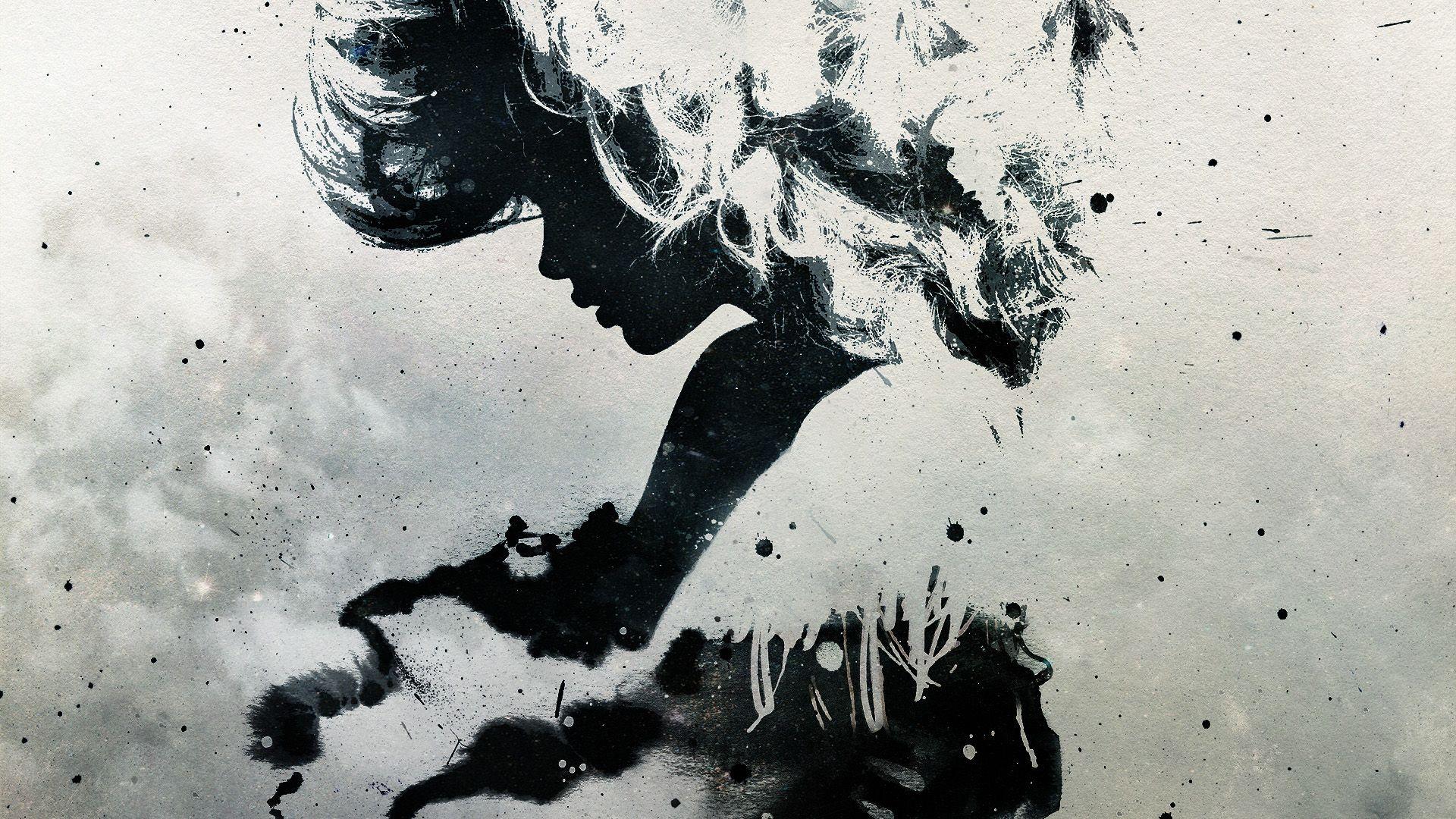 Women Abstract La Roux Artwork Alex Cherry Desktop Wallpaper | art ...