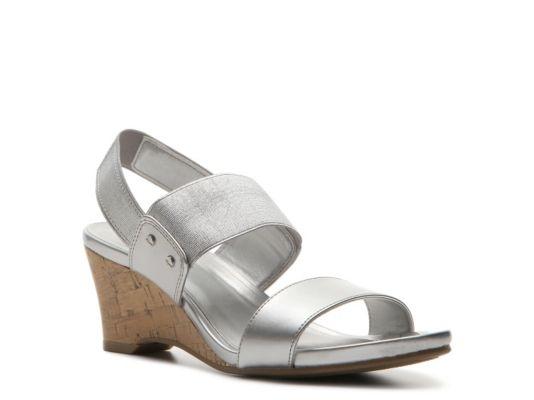 bbba69b3974 Women's Mootsies Tootsies Shenan Wedge Sandal - Silver | Products ...