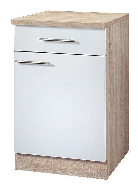 Wiho Küchen Unterschrank »Montana« Breite 50 cm Jetzt bestellen - küchen unterschrank 100 cm