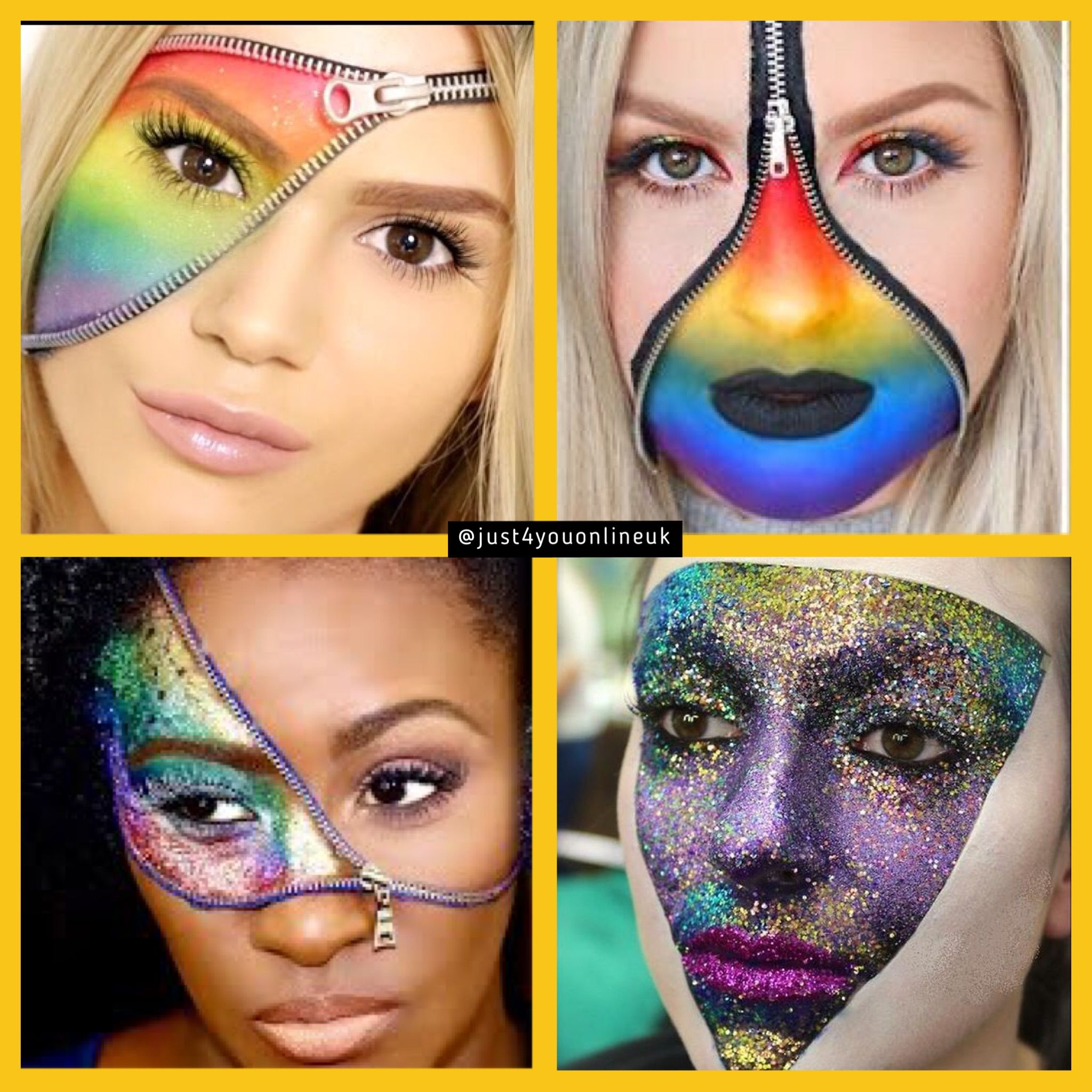Our glitter is perfect for face painting Resin art