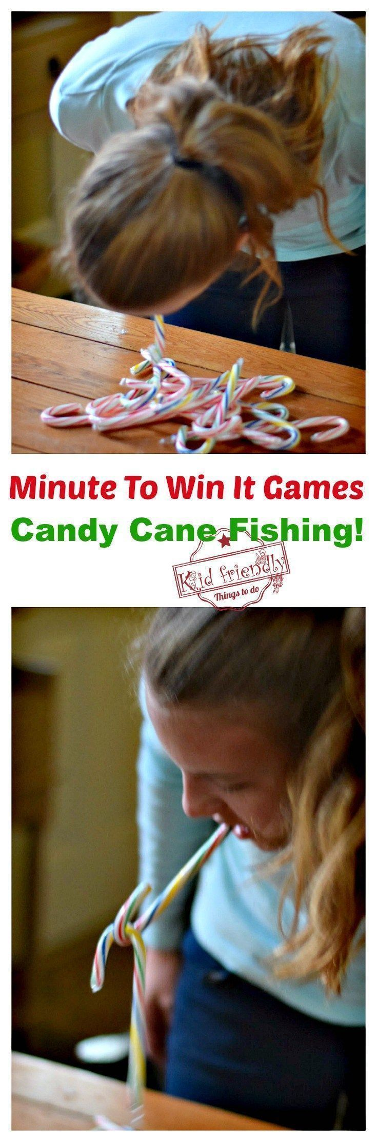 Super Fun Kid Friendly Minute To Win It Games with a Winter and ...