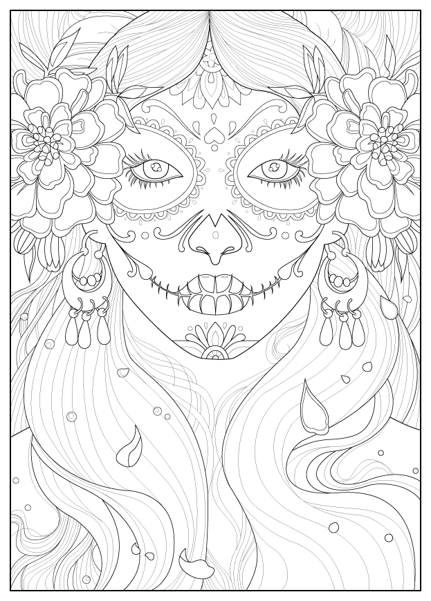 Adult days of the dead by julineFrom the gallery : Zen & Anti ...