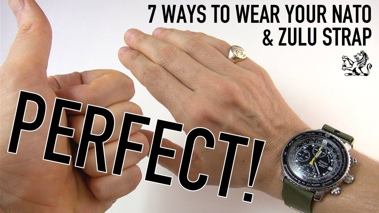 How To Wear A Nato Strap
