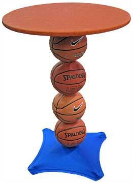 Attractive Basketball Highboy Table