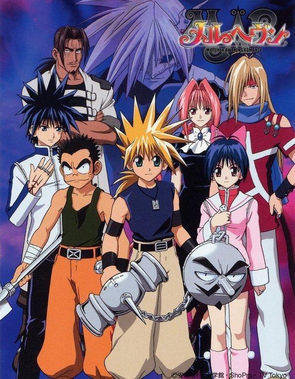 MÄR Märchen Awakens Romance (TV Series 20052007) Anime